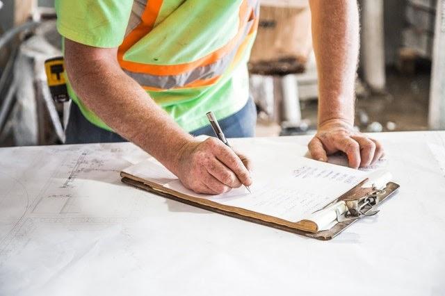 clipboard, contractor
