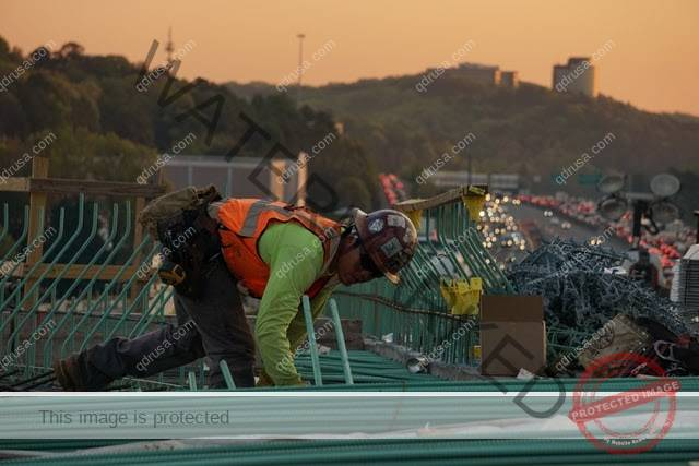 roof, worker